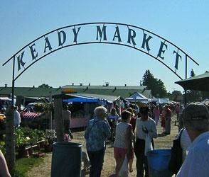 Keady Market (best flea market in Southern Ontario - every Tuesday spring-fall)