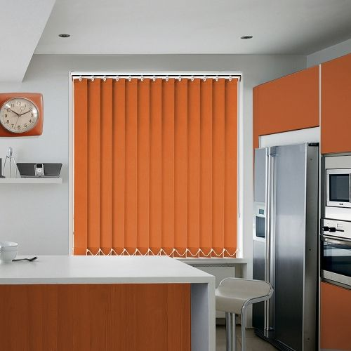 Richmond Terracotta Vertical Blind