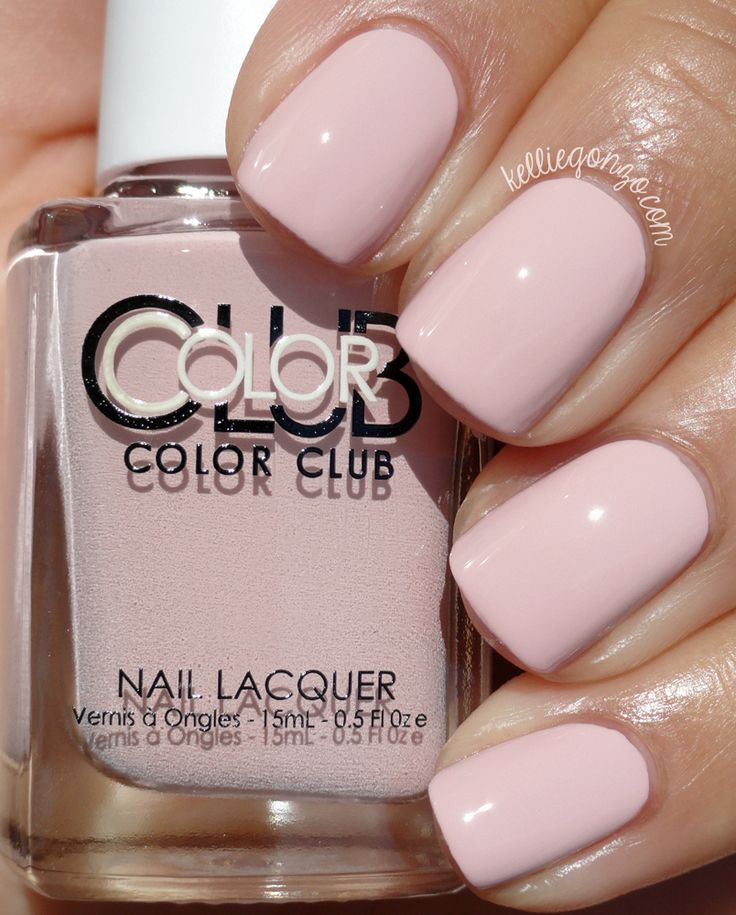 """Color Club """"New-tral"""" - soft dusty putty pink crème #nail polish / lacquer   collection: Shift Into Neutral (2015) // KellieGonzo"""
