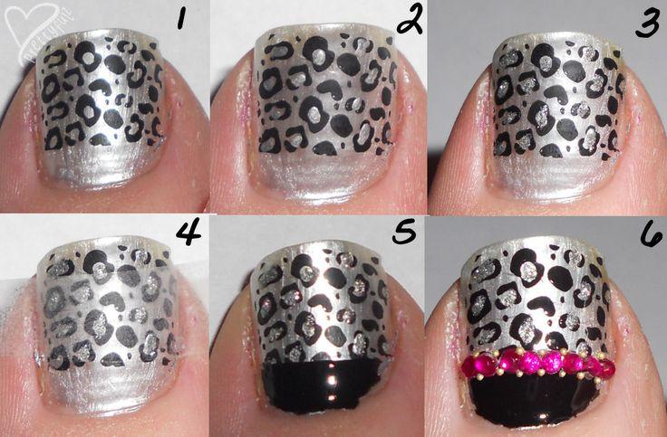 Toe Nail Art - looks super easy!