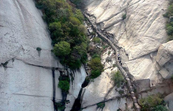 Photos au mont Hua : le sentier le plus dangereux du monde