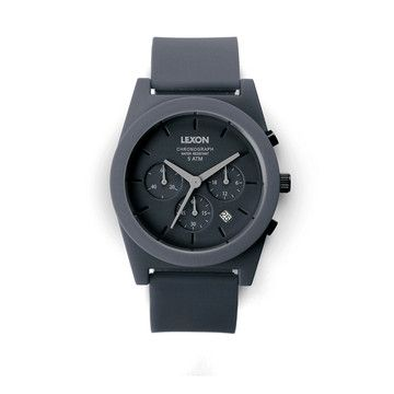 Lexon: Spring Chronograph Dark Grey, at 14% off!