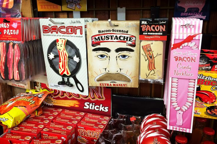 bacon section, Charlie Brown Farms, 8317 Pearblossom Highway, Littlerock, California (1893), pop. 9,100 | by lumierefl