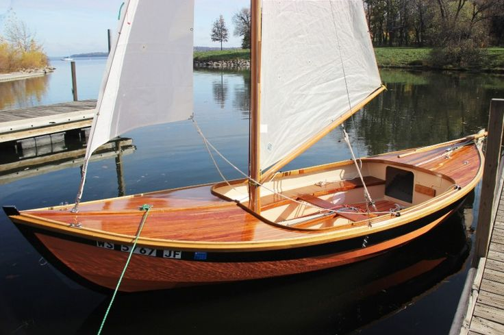 Caledonia Gunter Sloop rig. Article is Small Boat Montly