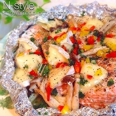秋鮭のイタリアンホイル焼き♡ by n*さん | レシピブログ - 料理 ...