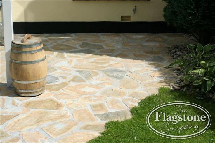 Griekse Flagstones Yellow Plakes - The Flagstone Company