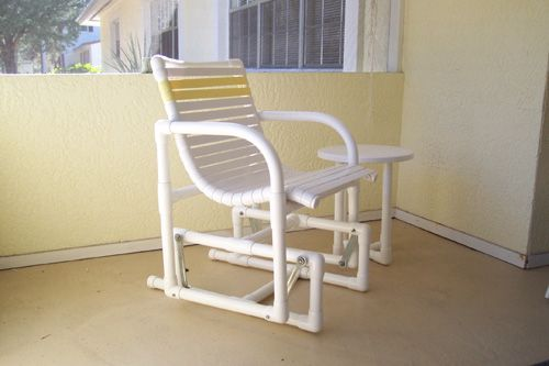 PVC PIPE GLIDER CHAIR