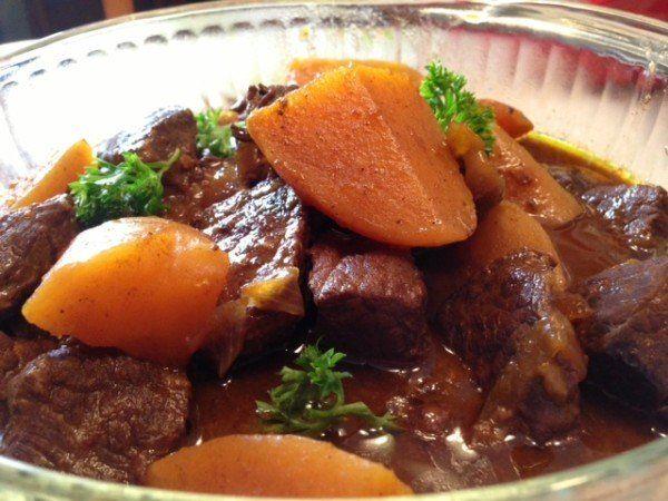 How to make Estofado de Vaca – Beef Stew with Potatoes and Carrots