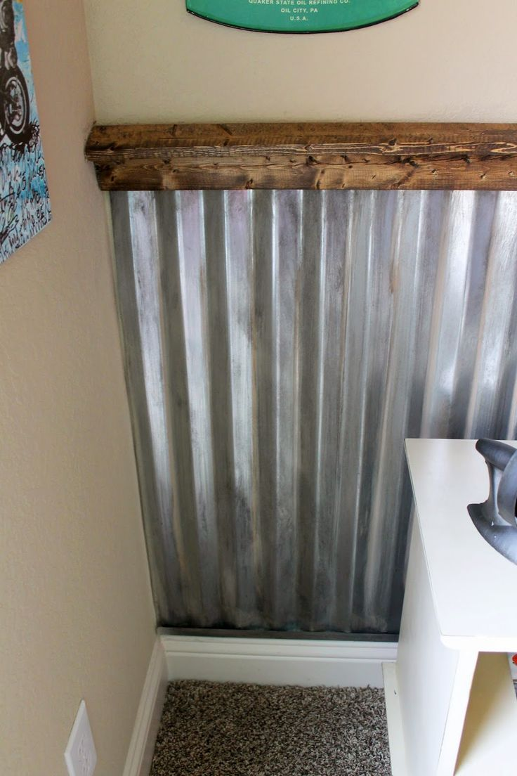 Corrugated Metal Interior Design Best 25 Corrugated Metal Walls Ideas On Pinterest Galvanized