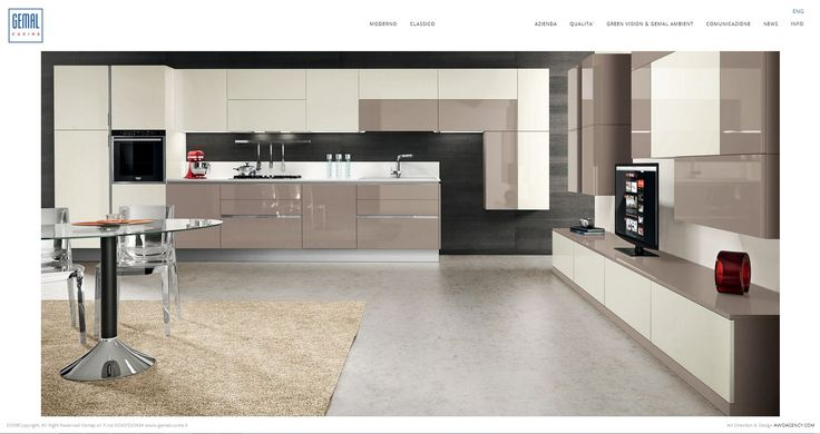 On line http://www.gemalcucine.it Art Direction & Design by AWD AGENCY