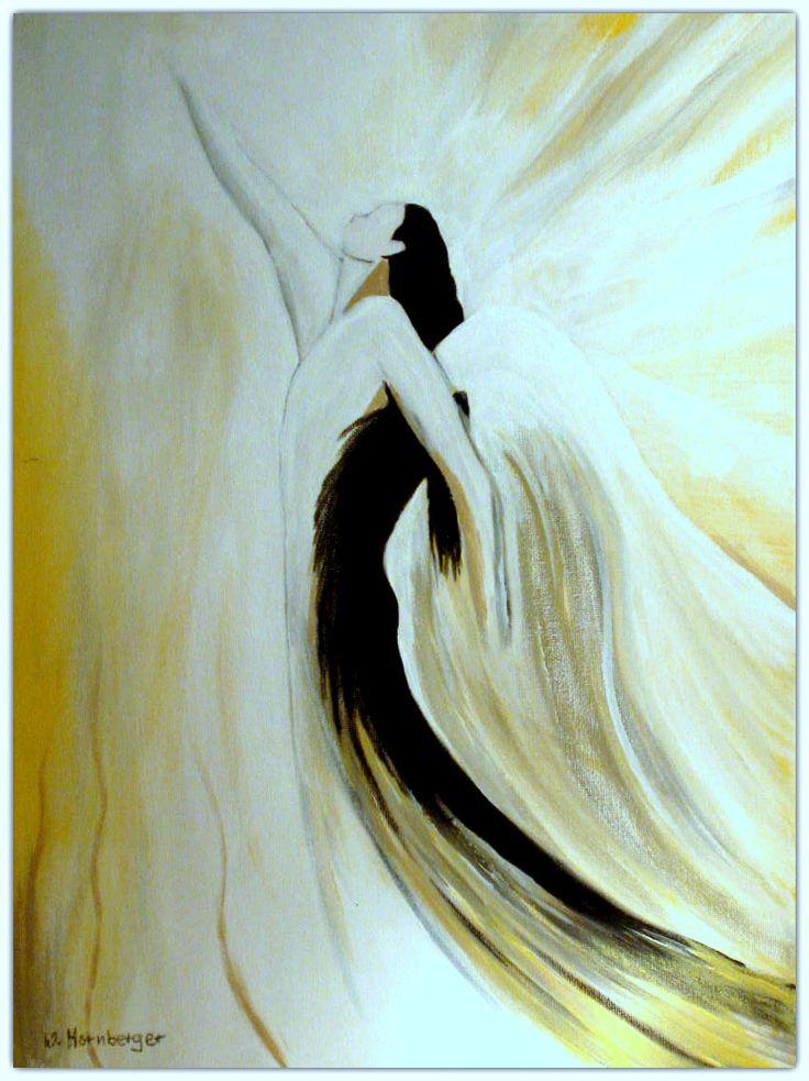 Acryl/Leinwand 30 cm x 40 cm x 1,5 cm Preis auf AnfrageThe Light 2