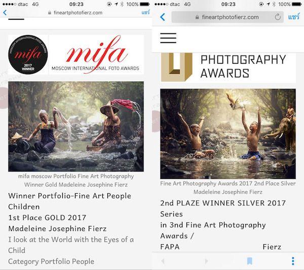Fotógrafa gana concursos usando fotografías robadas de Internet
