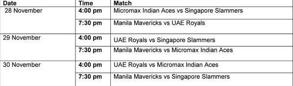 Rena! ... Via ULTM8 Serena Williams Fans  · ·     Repost by @ultm8swfans from @camillenaredo Here is the schedule of the matches of the Manila leg of the @iptl #ultm8swfans11/27/14