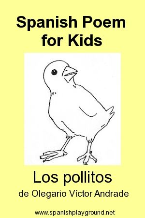 99 best Spanish Poems for Kids images on Pinterest Teaching