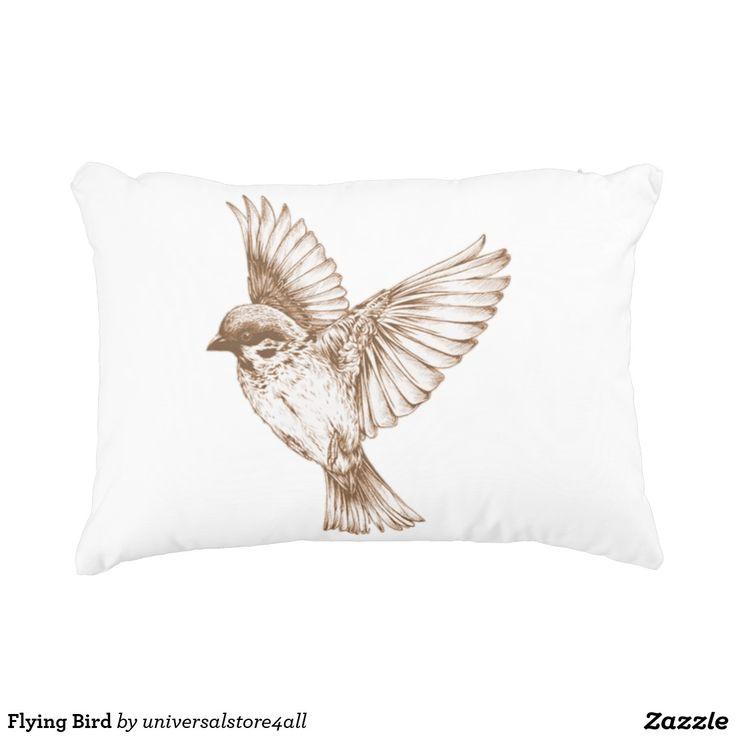 Flying Bird Decorative Pillow
