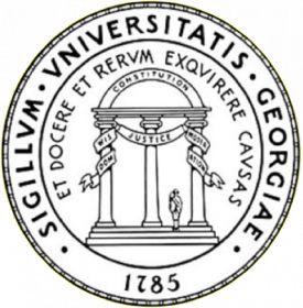 """University of Georgia Logo Number of Active Congress members: 5 Members: Rep. Ander Crenshaw, R-Fla.; Rep. Austin Scott, R-Ga.; Sen. Johnny Isakson, R-Ga.; Rep. Tom Graves, R-Ga.; Rep. Earl L. """"Buddy"""" Carter, R-Ga."""