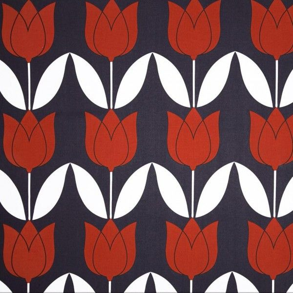 Michael Miller tulip paprika. Cotton.