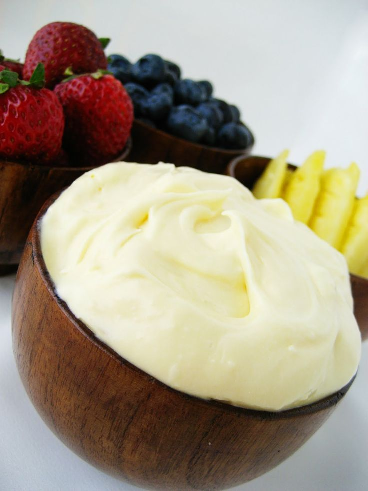 Fruit Dip ~ 1 - 8 oz. pkg Cream Cheese, Room Temperature, 1 Jar Marshmallow Creme, 2 Drop Lemon essential oil.