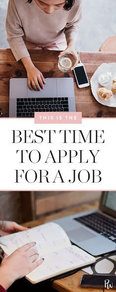 before you act fast and shoot your cover letter and résumé over to the hiring manager, keep in mind: There's actually an ideal time of day to apply for a job if you want to get it. Find out here. #jobapplications #applyingforjobs #career
