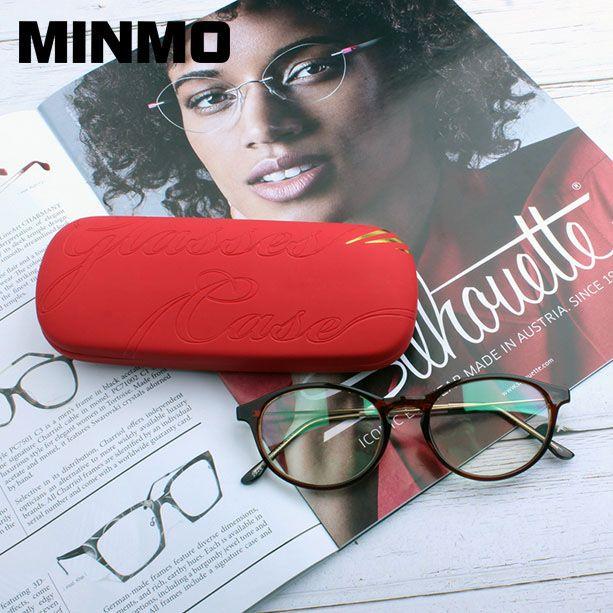 Hard Lasses Cases Customized Embossed Minmo Glasses Case Case Glasses