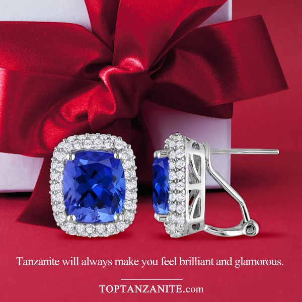 Get all the latest collection of Tanzanite Earrings at toptanzanite.com !