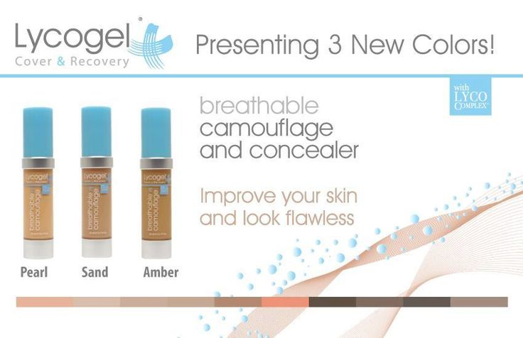 Three new colors are now available from Lycogel! Improve your skin and look flawless with the breathable, camouflage concealer. To order stop in your local AP or call 800-535-0221 email aplusorders@aesthetics-plus.com or visit www.aesthetics-plus.com