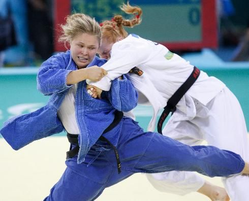 StrikeForce Women's Bantamweight Champion Rhonda Rousey is an Olympic Judo Bronze medalist and former World Judo champion.