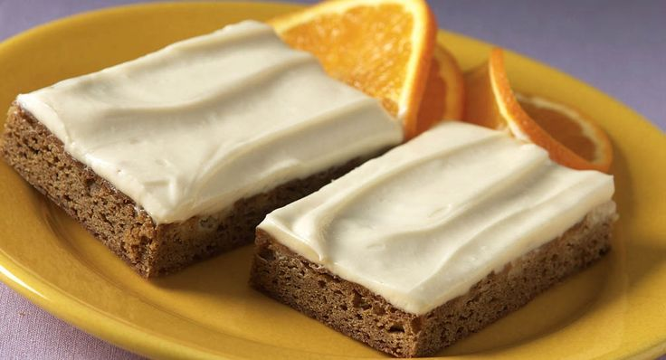 Gingerbread Bars with Cream Cheese Icing: These gingerbread bars, topped with a sweet cream cheese icing, will be a dessert or tea-time favorite during the holidays. [Sponsored by McCormick]
