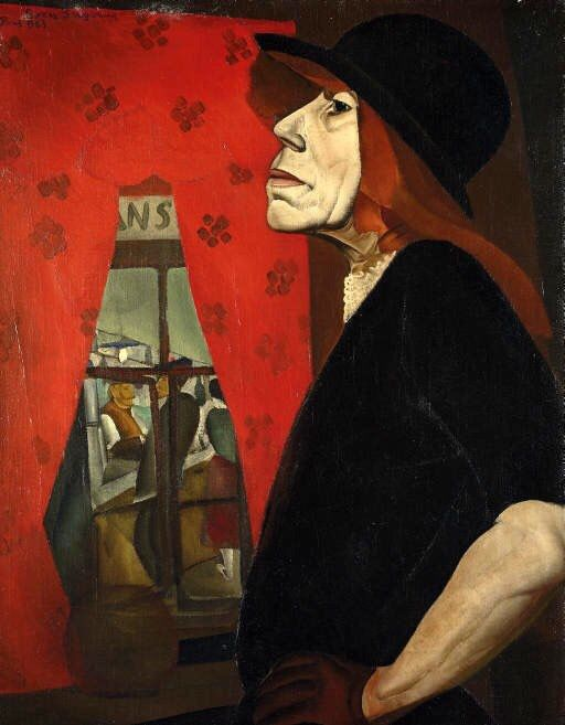The Harlot of Marseilles - Boris Grigoriev