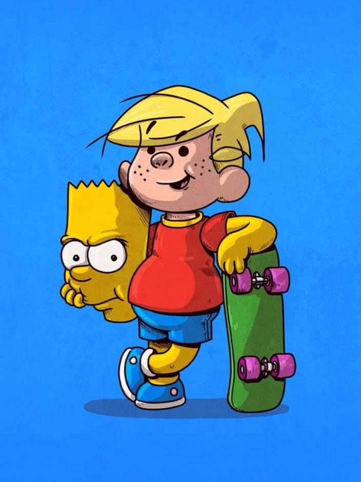 Bart Simpson - Daniel el travieso