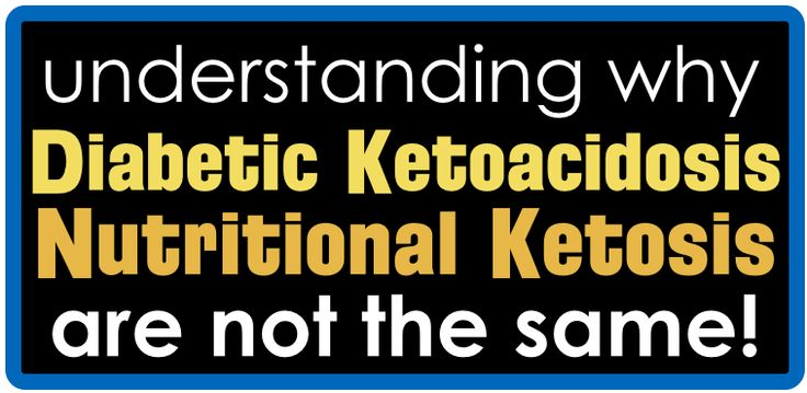 There's a very common misconception and general misunderstanding around ketones. Specifically, the misunderstandings lie in the areas of: ketones that are produced in low-carb diets of generally less than 50 grams of carbs per day, which is low enough to put a person in a state of ""