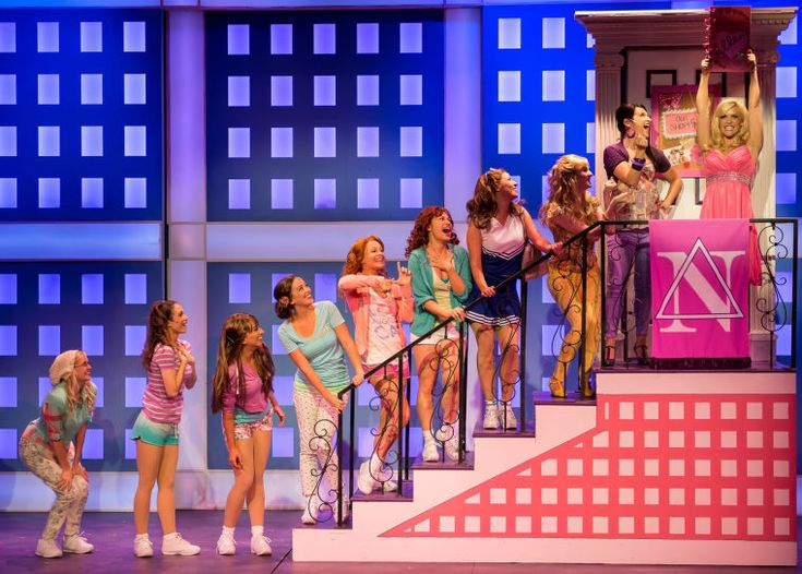 Legally Blonde presented by STAGES St. Louis at Robert G Reim Theater in Kirkwood, MO on July 18, 2013. - Ladue News: Photos
