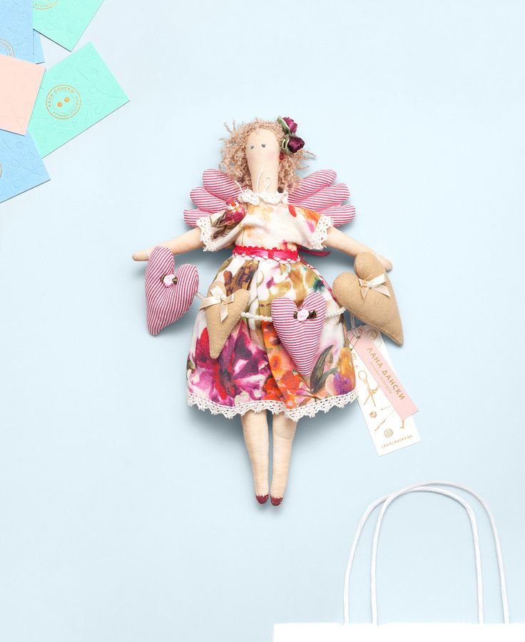 AMS for Lana Dansky Handmade Toys #AMS #AlexeyMalina #Branding #DesignIntelligence #Identity