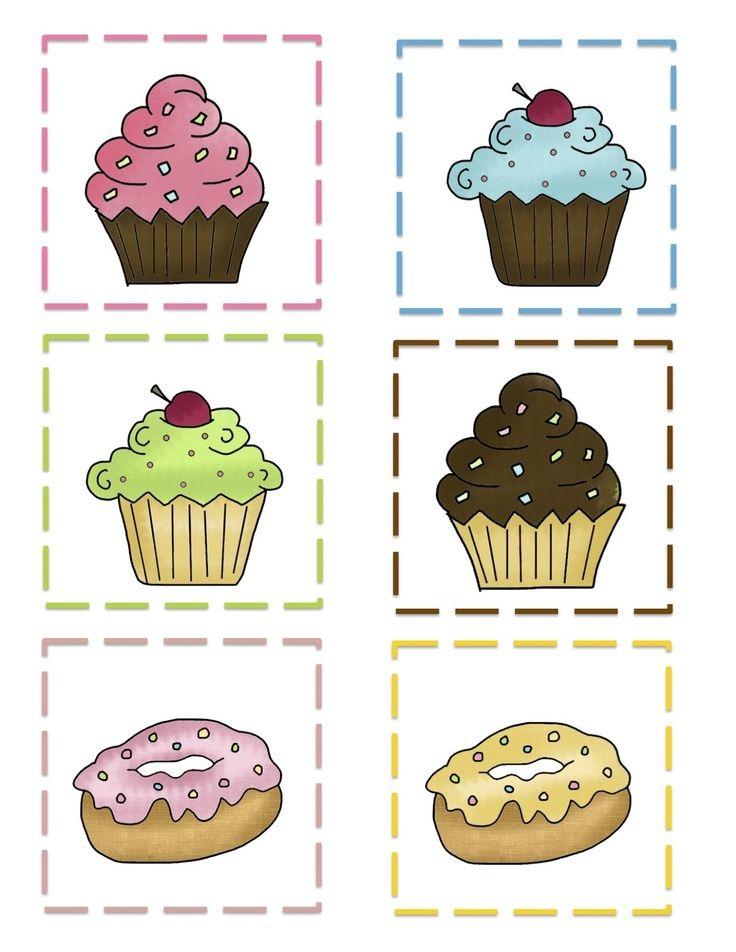 17 best images about lsp bakery on pinterest preschool printables chef hats and kitchen art - Muffins fur kindergarten ...