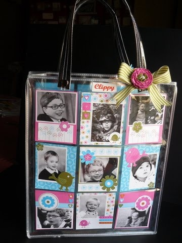 You can fill the little pockets with all sorts of stuff - even children... #bags