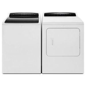 WTW7300DW in White by Whirlpool in Cambridge, MD - 4.8 cu. ft. High-Efficiency Top Load Washer with Steam Clean Option