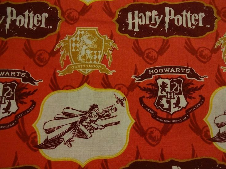 """Awesome """"HARRY POTTER"""" Handmade Cotton Pillowcase Standard/Queen (Last 3) #WarnerBros #Whimsical"""