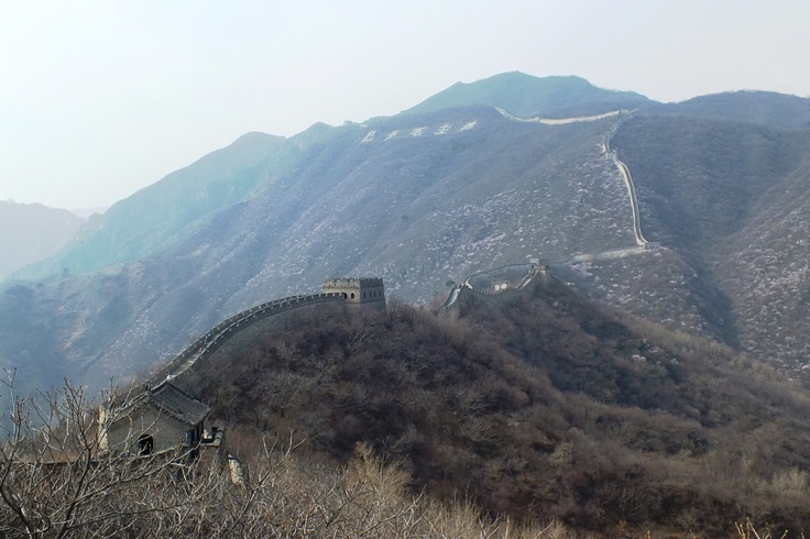 A great wall...