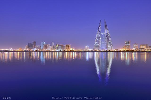 Block 316, Manama, Capital, Bahrain,     Manama Skyline by ideon.cz, via Flickr