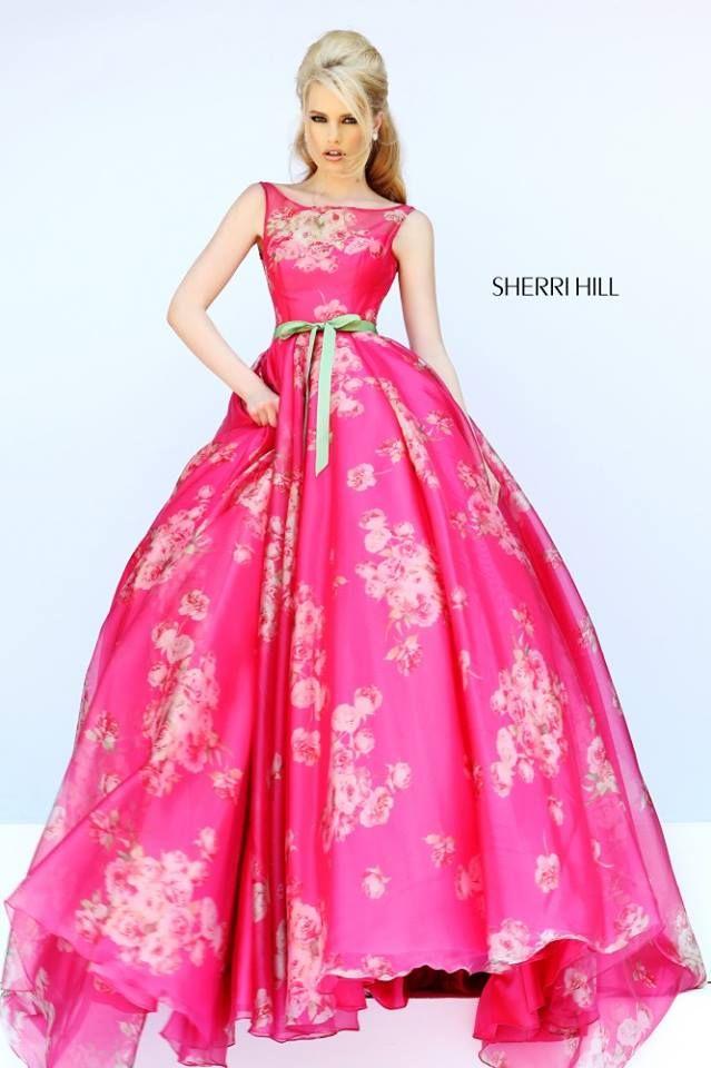 Mejores 97 imágenes de Sherri hill en Pinterest | Vestidos de noche ...