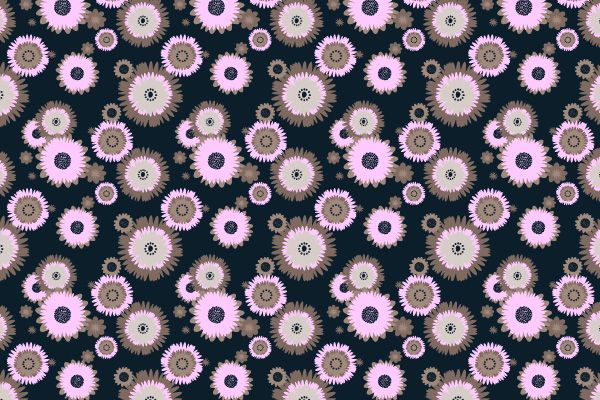 How to Make a Foolproof Flowery Wallpaper Pattern | Vectortuts+