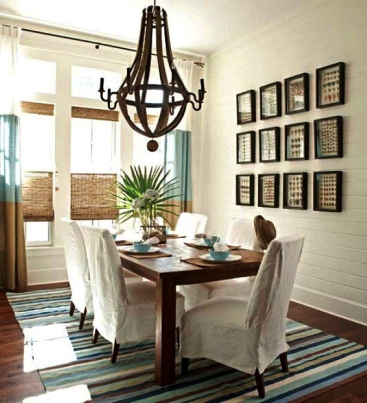 48 best dining room lighting images on pinterest for Casual dining room ideas