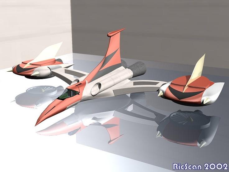Images 3D de Goldorak