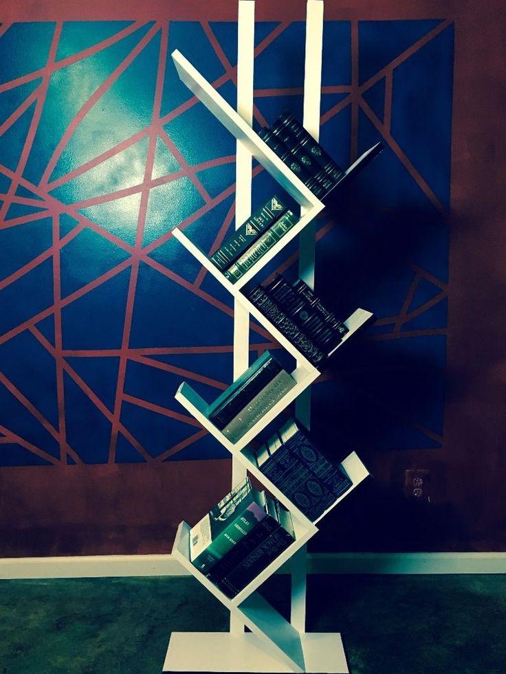 bookshelf in modern style