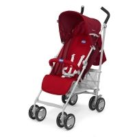 Chicco London rouge poussette canne