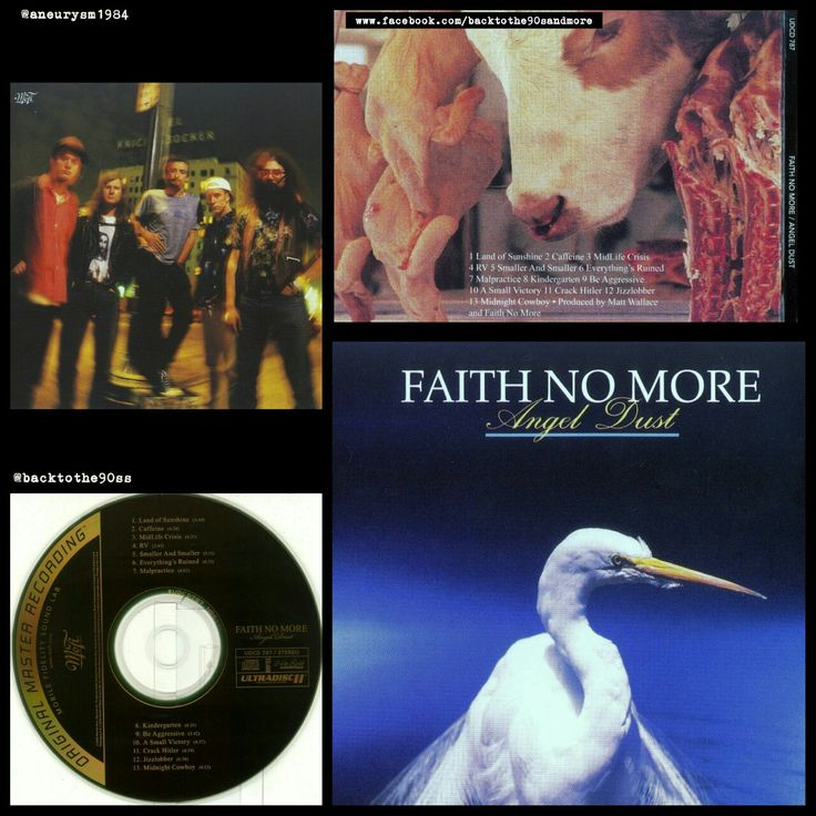 #HappyAnniversary 25 years #FaithNoMore #AngelDust #album #alternative #metal #experimental #rock #music #90s #90smusic #90salternative #90srock #backtothe90s #JimMartin #MikeBordin #RoddyBottum #BillyGould #MikePatton #MattWallace #90sband #90salbum #90sCD #backtothenineties #FNM @faithnomore #CD #1992