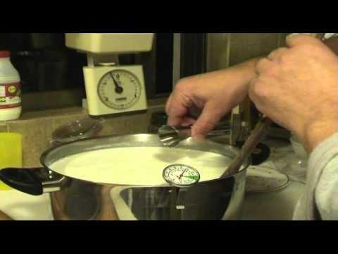 """""""Φτιάχνω τυρί φέτα #2 τρόπος """" Homemade cheese Greek"""" feta"""" - YouTube"""