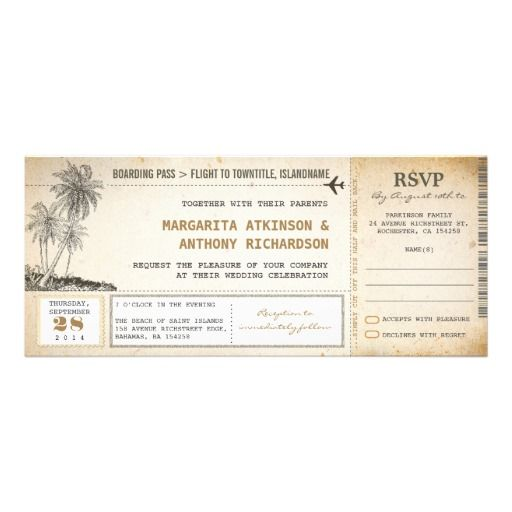 18 best Boarding Pass Invitation Template images on Pinterest - boarding pass template