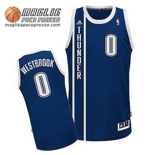 Canotte Nba Swingman Westbrook #0 Blu Marino Oklahoma City Thunder  €22.9