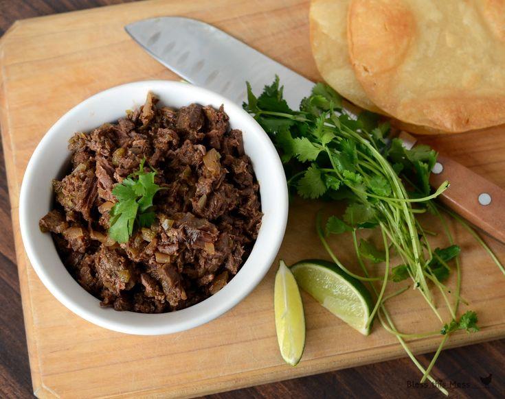 Steak Carnitas Meat in the Crockpot